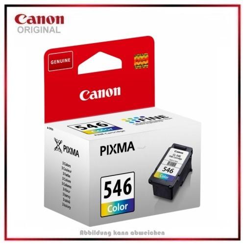 CL546, 8289B001 Original Tinte COLOR, Canon TS-3150, MG 2450, MG 2550, Inhalt 8 ml, 180 Seiten.