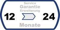 Garantie Verlängerung auf 24 Monate