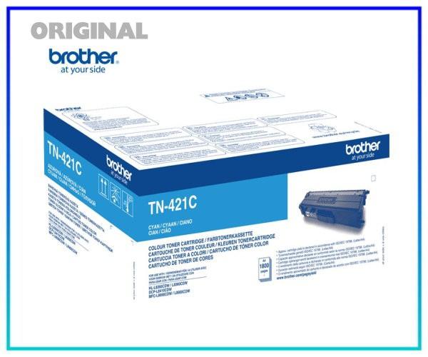 TN-421C - Original Toner Cyan (Blau) für 1.800 Seiten
