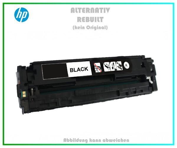CB540A Mehrweg Lasertoner Black f. HP Laserjet CP, CM1312, u. Canon LBP 5050 (716) - 2.200 Seiten