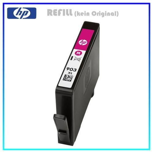 REF903XLM Refill Tinte Magenta für HP - T6M07AE - Inhalt ca. 10,0ml (kein Original)
