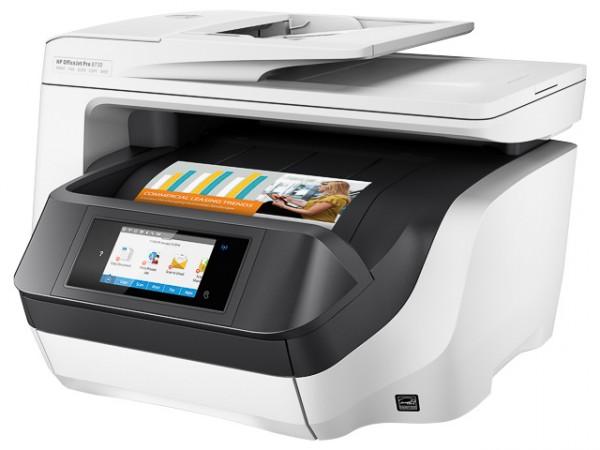 HP OJ Pro 8730 - 4IN1, Officejet, TINTENSTRAHLDRUCKER, D9L20A#A80 , A4, DUPLEX, WLAN, MULTI, FARBE
