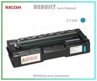 SPC252 Tonerkartusche High Capacity Cyan für Ricoh  407717 - Aficio SP C252 DN-SF, 4.000 Seiten