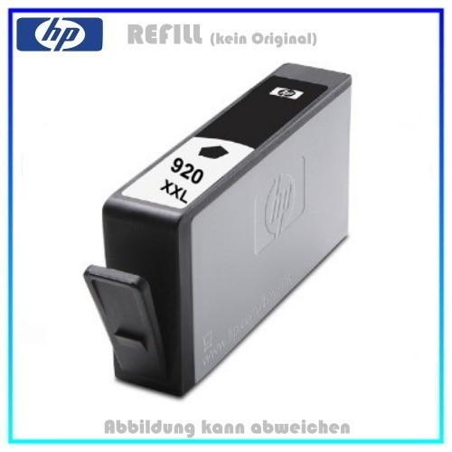 REF920BKXXL Refill Tinte Black XXL für HP - CD975AE - Inhalt 55ml