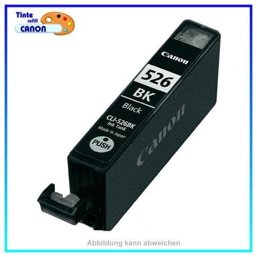 CLI526BK Alternativ Black Tintenpatrone f. Canon 4540B001 - IP 4820 MG 6250 (Schachtel Verpackg.)
