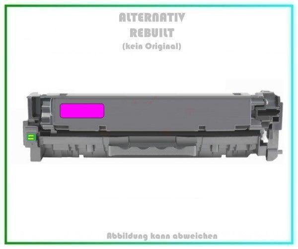 CC533A, TONCC533A, Alternativ Toner Magenta für HP Laserjet, CC533A, Inhalt 2.800 Seiten, kein Orig