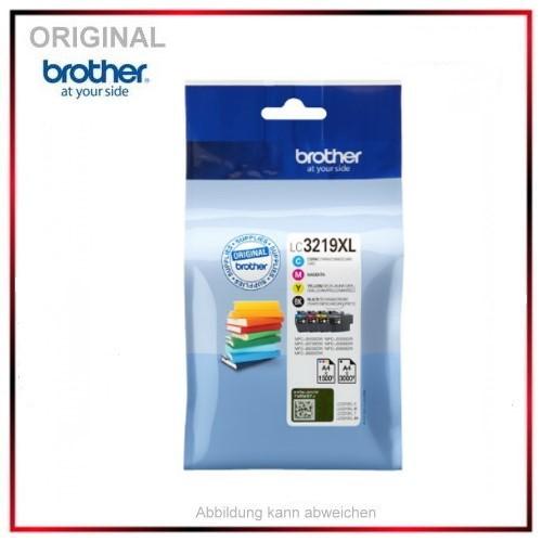 LC3219XLVALDR - Multipack ORIGINAL Tinte für Brother - 1 x 3.000 + 3 x 1.500 Seiten