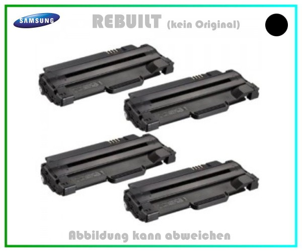 4er Set TONML1910 Alternativ Toner Black f. Samsung ML1910, ML1911, ML1915, ML1916, ML2525, 4x2500 S