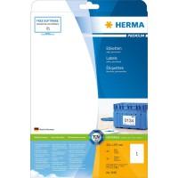 Herma 5065 Etiketten (Premium Papier matt, 210 x 297 mm) Inhalt 25 Stück weiß