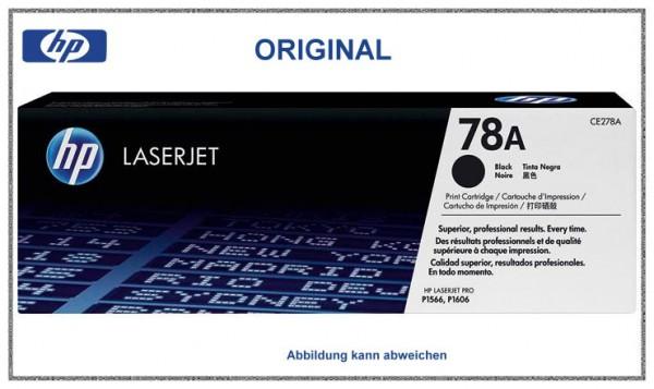 CE278A - Black original Toner fuer HP Laserjet CE278A - Inhalt ca. 2.100 Seiten