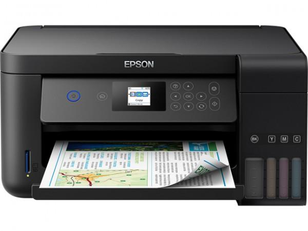 EPSON ECOTANK ET2750 3IN1 TINTENSTRAHL DRUCKER C11CG22402, A4, DUPLEX, WLAN