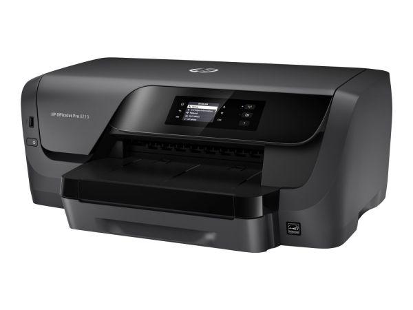 HP Officejet Pro 8210, A4 Tintenstrahl Drucker, Farbe, Duplex
