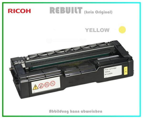 SPC252 Tonerkartusche High Capacity Yellow für Ricoh 407719 - Aficio SP C252 DN-SF, 4.000 Seiten