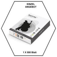 Kopierpapier A4 - 1 x 500 Blatt - 80g/m² - holzfrei