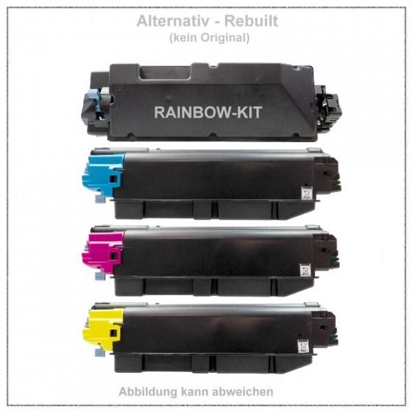 TONTK5280KIT Alternativ Toner Rainbowkit Kyocera, TK-5280, BK+C+M+Y,BK=13000 S.,CMY= je.11000 Seiten