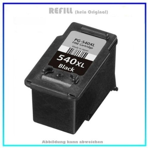 REFPG540XL Refill Tintenpatrone Black für Canon 5222B005 - PG540XL - Inhalt ca. 21ml