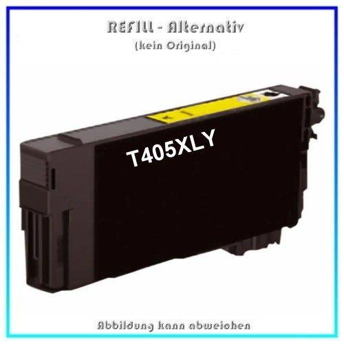 T405XLY Alternativ Seestern Tinte Yellow, T-405XLY, für Epson, C13T05H44010, Inhalt 14,7ml, k. Origi
