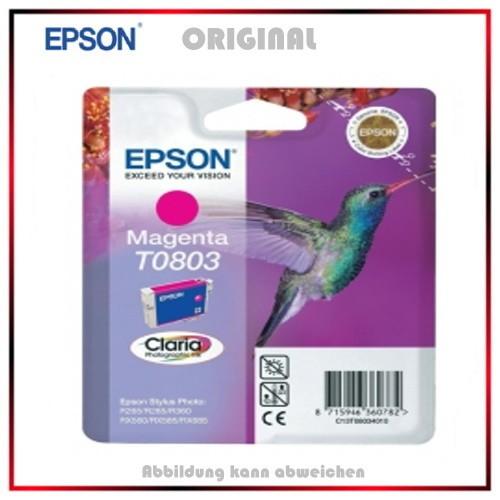T080140 - C13T08014010 - Epson Original Magenta Tintenpatrone - C13T08034011 - C13T08034010