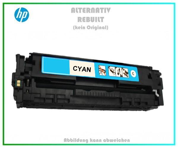CB541A Mehrweg Lasertoner Cyan f. HP Laserjet - u. Canon LBP 5050 (716) - ca. 1.400 Seiten