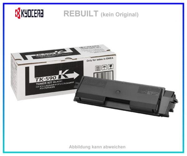 TONTK590BK Toner Black mit Chip fuer Kyocera-Mita FS-C 2026 MFP - FS-C 2126 MFP - FS-C 2526 MFP - In