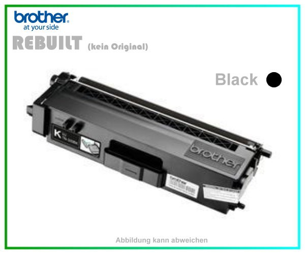 TONTN325BK - TN-325BK - TN320BK - Black - Alternativ Lasertoner f. Brother - Inhalt ca. 4.000 Seiten