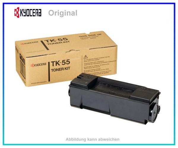 TK55 Original Kyocera Tonerkasette 370QC0KX Black für TK55,FS1920,FS1920D,FS1920DN, 15.000 Seiten.