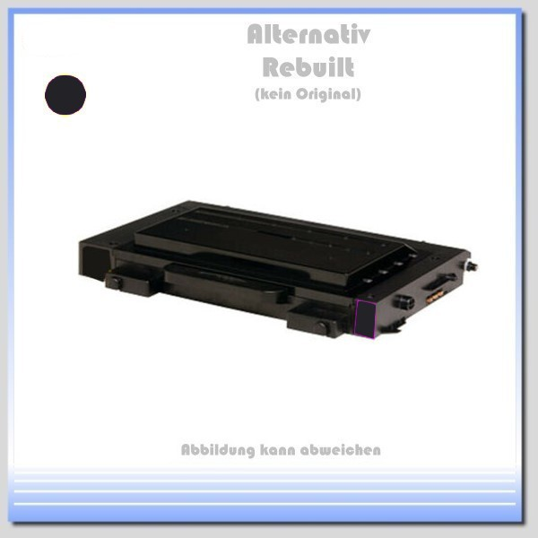 TONCLP500BK, CLP-500, Alternativ Toner Black für Samsung CLP-500 D7K/ELS-K - Inhalt 7.000 Seiten.