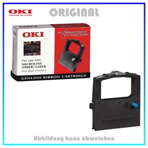 Original Farbband Black 09002310 fuer OKI ML5320 - ML320 - ML390 FB (Original) - 2.000.000 Zeichen.