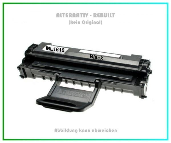 TONML1610 Alternativ Toner Black, Samsung ML1610, ML2010, ML-2510, ML2571, SCX4521,3.200 Seiten.