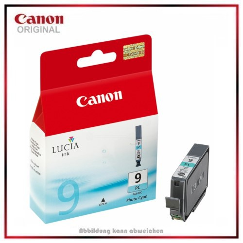 PGI9PC - 1038B001 - Photocyan - original Tintenpatrone f. Canon Pixma