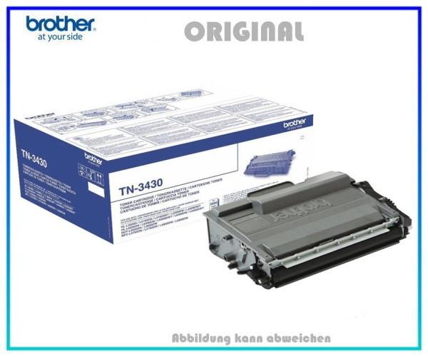 TN3430 Original Toner Black für Brother DCP-L5500 - TN3430 - Inhalt ca. 3.000 Seiten