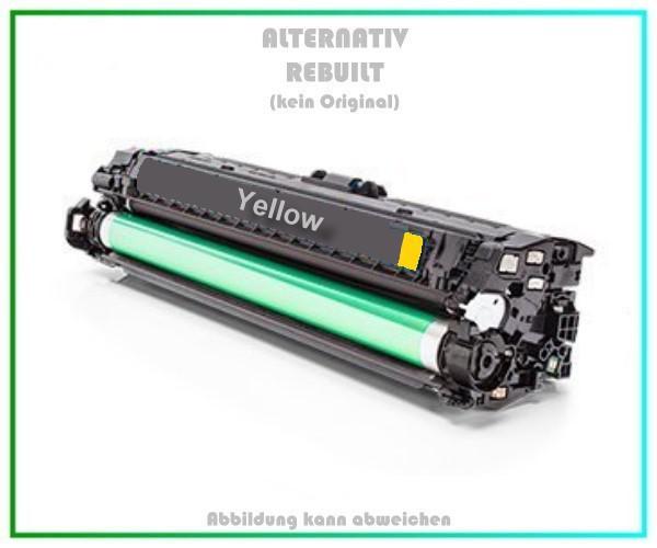 TONH342A Alternativ Toner Yellow für HP - CE342A - Inhalt 13.500 Seiten