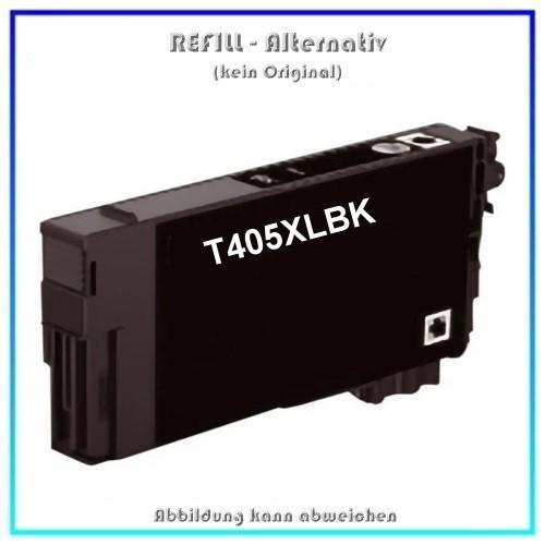 T405XLBK Alternativ Seestern Tinte Black, T-405XLBK, für Epson, C13T05H14010, Inhalt 18,9ml, kein Or
