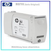 CM996A, 761, Refill Tintenpatrone Dark Gray für HP CM996A, Designjet T7100 Plotter, Inhalt 400ml