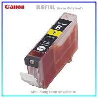 CLI8Y Alternativ Tintenpatrone Yellow für Canon - 0623B001 - Inhalt ca. 13ml - Chipversion