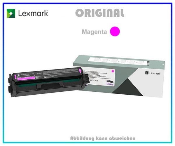 C332HM0 LEXMARK CS3226 Original Toner Magenta - Inhalt 2.500 Seiten, C332HM0.