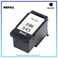 REFPG545XL Refill Tintenpatrone Black für Canon 8286B001, PIXMA IP2850,IP 2850,MG-2450,MG2450, 15ml