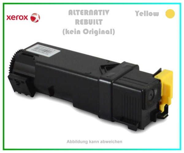 TONPHASER6500Y, Alternativ Toner Yellow, f. Xerox, 106R01596, Phaser 6500, Phaser 6505, 2500 Seiten.