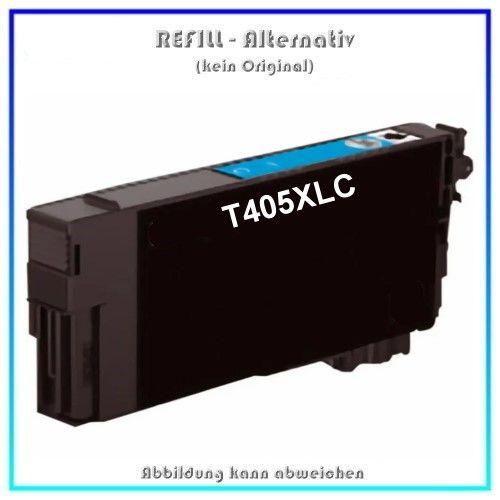 T405XLC Alternativ Seestern Tinte Cyan, T-405XLC, für Epson, C13T05H24010, Inhalt 14,7ml, kein Origi