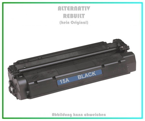TON15A Alternativ Toner Black 15A, für HP C7115A, Canon, HP, Troy, Inhalt 2.500 Seiten.