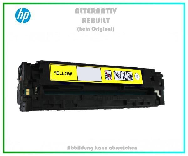 CB542A Mehrweg Lasertoner Yellow f. HP Laserjet - u. Canon LBP 5050 (716) - ca. 1.400 Seiten