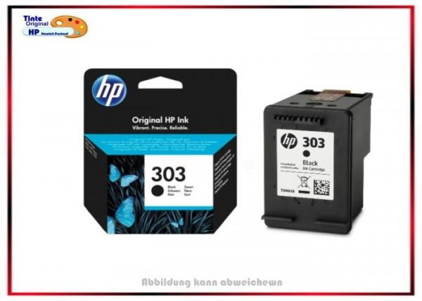 HP Original Tintenpatrone, HP-303 Black, T6N02AE, schwarz - T6N02AE - BK=200 Seiten