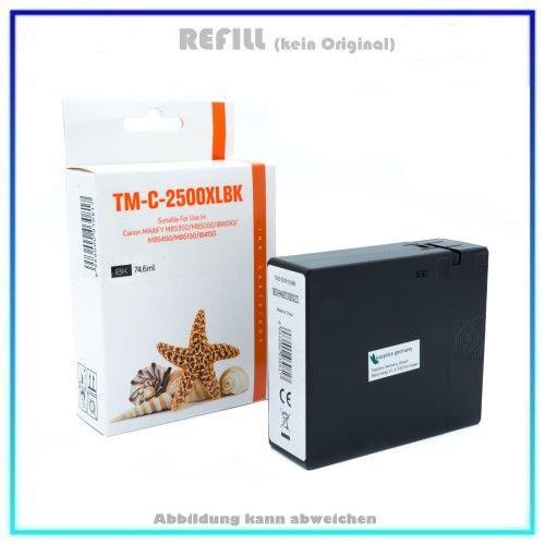 PGI2500BKXL Alternativ Seestern Tinte Black für Canon 9254B001, Inhalt: 74,6ml.