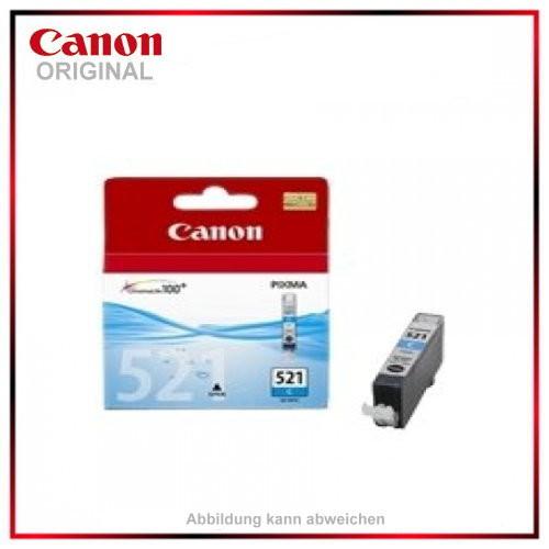 CLI521C - 2934B001 - Cyan - original Tintenpatrone f. Canon Pixma MP 620 - IP 4600 X - MP 540 - MP