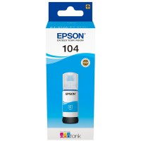 EPSON Ecotank Original Cyan Tinte 104 - T00P24 - C13T00P240