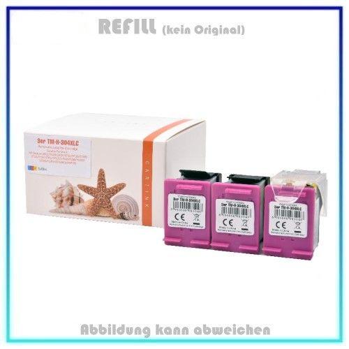 REF304CXL Ecosaver 3-facher Nutzen, Color Snaps Refill - N9K07AE - Inhalt 3x18ml (kein Original).