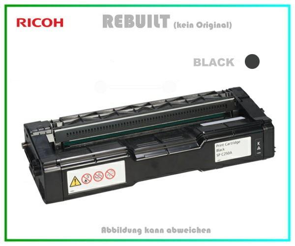SPC252 Tonerkartusche High Capacity Black für Ricoh 407716 - Aficio SP C252 DN-SF, 4.500 Seiten.