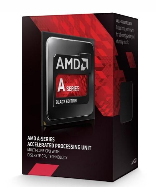AMD A8 X4 7650K Box Black Edition FM2+ (3,800GHz)