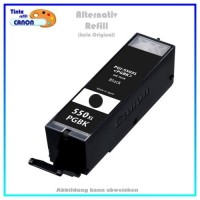 BULK PGI550BKXL Alternativ Tintenpatrone Black für Canon - 6431B001 - Inhalt ca. 23ml.