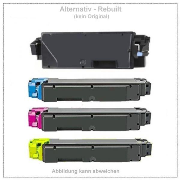 TONTK5140KIT Alternativ Toner Rainbowkit für Kyocera - TK-5140 BK+C+M+Y - BK=7000 S., CMY=a.5000 S